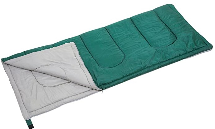 寝袋は封筒型が使いやすい